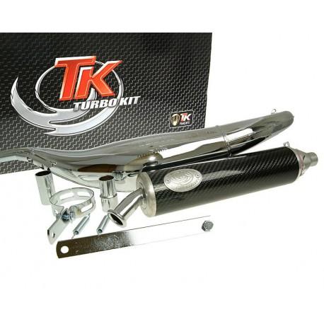 Izpuh Turbo Kit Road RQ chrome E-marked Aprilia RS50