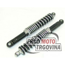 Shock absorbers IMCA 280mm -Black Crome