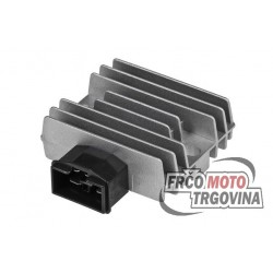 Voltage regulator Tec, Honda 125-600 / Malaguti Madison 400 02-04 / Peugeot SV 250 / Piaggio X9 250 00-03