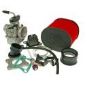 Carburetor kit MALOSSI MHR TEAM VHST 28 for AM6 , DERBI , Generic , CPI , 1E40MA ,1E40MB