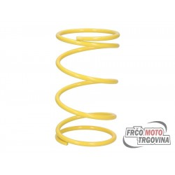 Torque spring Malossi MHR Yellow K6.8 / L112mm for Piaggio 125-300cc