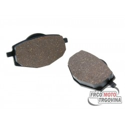Brake pads for Yamaha Cygnus 125 , TZR , DT , TZR 50 MBK Flame , X-Power 125