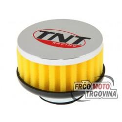 Športni zračni filter TNT R BOXH5 d.28-35mm raven - Rumen