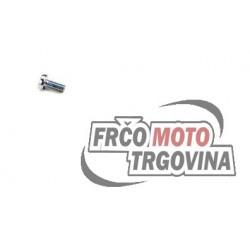 Vijak 5Mx12 - Pokrov oljne pumpe blok - Piaggio Leader - Aprilia - Gilera -Piaggio