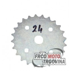 Rear sprocket  Tomos A3 - 24Z - spoke rim