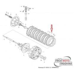 Lamela sklopke Hyosung GT650 , GT650R , ST7 , TE450