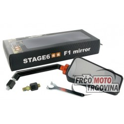 Retrovizor Stage6 F1 M8 Desno Carbon Mat