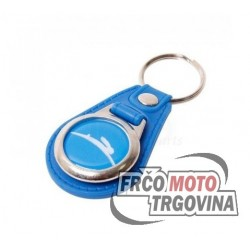 Keychain Tomos blue