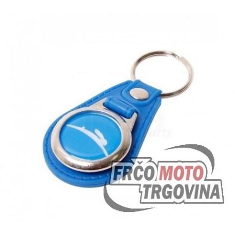 Keychain Tomos blue