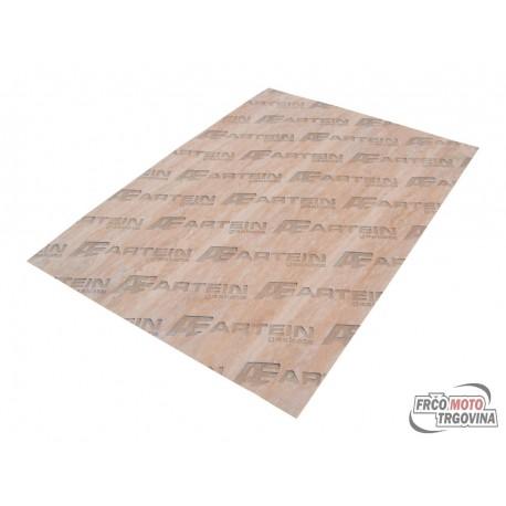 Gasket paper sheet thick version 0.30mm 140mm x 195mm