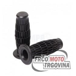 Grips Black- Oldtimer 22 / 24 mm