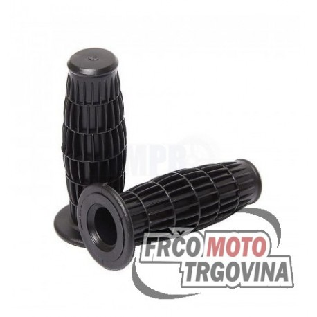 Grips Black- Oldtimer 22 / 24 mm