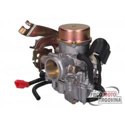 Uplinjač Naraku 30mm z membrano za Piaggio 125 - 250cc