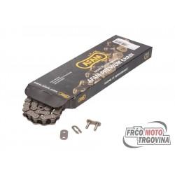 Drive chain AFAM black  420M x 140L
