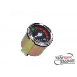 Speedometer universal 48mm 0 - 80km/h
