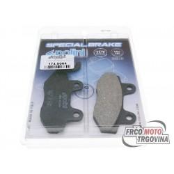 Brake pads Polini organic for Kymco , Yamaha , Hyosung