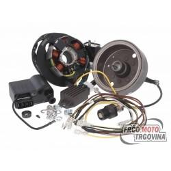 Paljenje Conversion kit Simson , Yamaha DT AM6 12V Ducati Energia  Kokusan