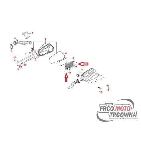 Zračni filter Or. Kymco 50cc - Agility City , Dink , Pepole S , Sento , Super 8 , Yager GT 50