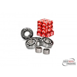 Gearbox bearing set VOCA Racing for Minarelli AM6 -2011