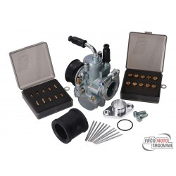 tuning carburetor kit 19mm for moped 50cc 2 stroke- Simson , Tomos , Puch