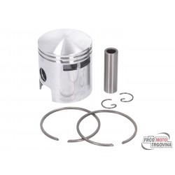 piston kit DR 75cc 47mm 6TR for Vespa V50, Special, PK, Ape 50