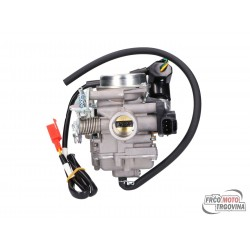 Carburetor for 50cc Kymco, SYM, Peugeot, GY6 Euro4