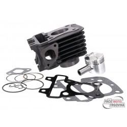 cylinder kit Naraku 50cc for Piaggio Zip 50 4T 2V/ 4V  06-17