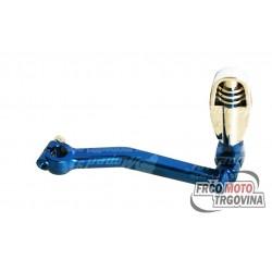 Ročica nožnega zaganjača MP91 Modra - Minarelli / Peugeot