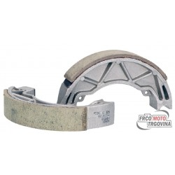brake shoe set RMS 140x25mm for drum brake for Aprilia Scarabeo, Gilera Runner, Piaggio Liberty