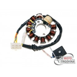 Alternator stator 11 coil 6 pins for GY6 125 , 150cc
