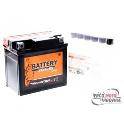 Baterija NOVASCOOT YTX5L-BS 12V-4Ah MF