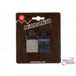 Brake pads Naraku organic for Aprilia, Malaguti, Piaggio, Simson