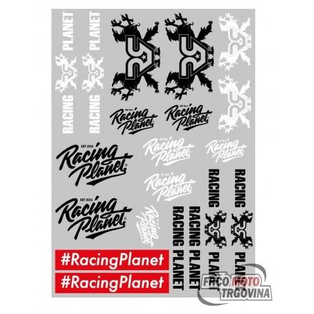 Set nalepk Racing Planet 29.7x21cm