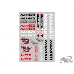 Sticker set Naraku 29.7x21cm 30-delni