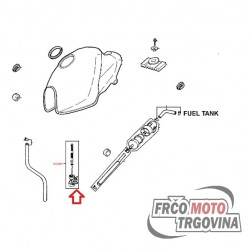Fuel tap manual for Kymco CK 125cc