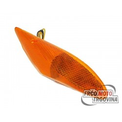 Smernik spredaj levo oranžen MBK Booster , Yamaha Bws -02