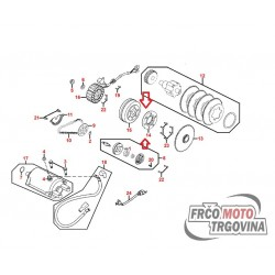 Zagonska sklopka električnega zaganjača Kymco Xciting 500 original