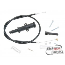 Choke cable assy Polini Black 65cm - universal