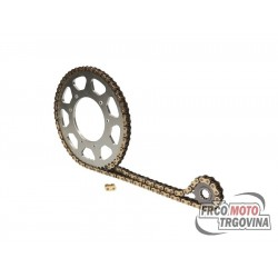 Chain kit AFAM 11/52 teeth for K-Sport , Motorhispania , Peugeot , Rieju