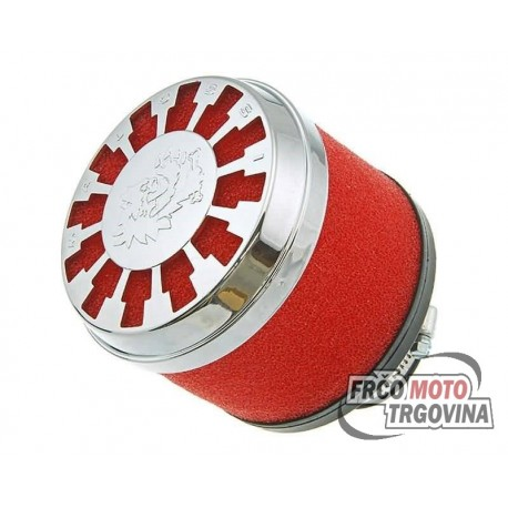 Air filter Malossi red filter E13 straight 32-38mm carburetor connection