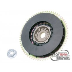 Outer pulley complete for variator for Piaggio 50cc 2T 1998- , 50cc 4T , 100cc 4T