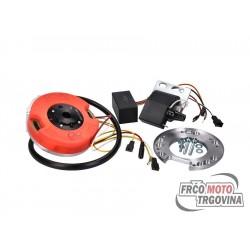 Športna eletrika z notranjim rotorjem MVT digital Direct z lučmi za Puch Maxi , Tomos
