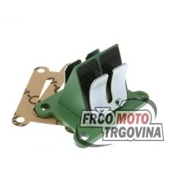 Reed Valve Carbon BARIKIT Derbi/ Piaggio 50 H2O 2T