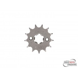 front sprocket AFAM 13 teeth 428 for Yamaha Motor 125 LC YI-3 Beta, HM, MH, Rieju, Yamaha