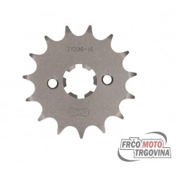 front sprocket AFAM 15 teeth 428 for Yamaha Motor 125 LC YI-3 Beta, HM, MH, Rieju, Yamaha