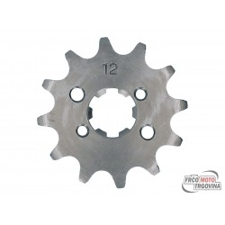 front sprocket 420 - 12 teeth for Derbi D50B0, EBE, EBS