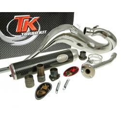 Izpuh Turbo Kit Bufanda Carreras CROME  80 for Aprilia, Derbi, Gilera