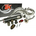 Izpuh Turbo Kit Bufanda Carreras CROME  80 za Derbi Senda (00-) , Aprilia RX/SX , Gilera RCR/SMT , Zulu