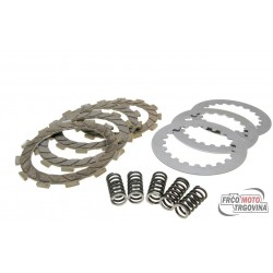 clutch plate kit Malossi reinforced for Derbi Senda GPR, Aprilia RS RX SX, Gilera RCR, SMT (D50B0), EBE, EBS