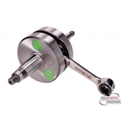 Crankshaft Carenzi Evolution for Derbi / Piaggio engine D50B0, Senda 2006, GPR 2006, Aprilia 50 RS, Gilera 50 SMT, RCR 2006